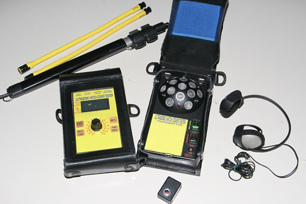 Ultrasonic Receiver Directional Microphone: Ultrasonic Hatch Cover Tightness Surveys